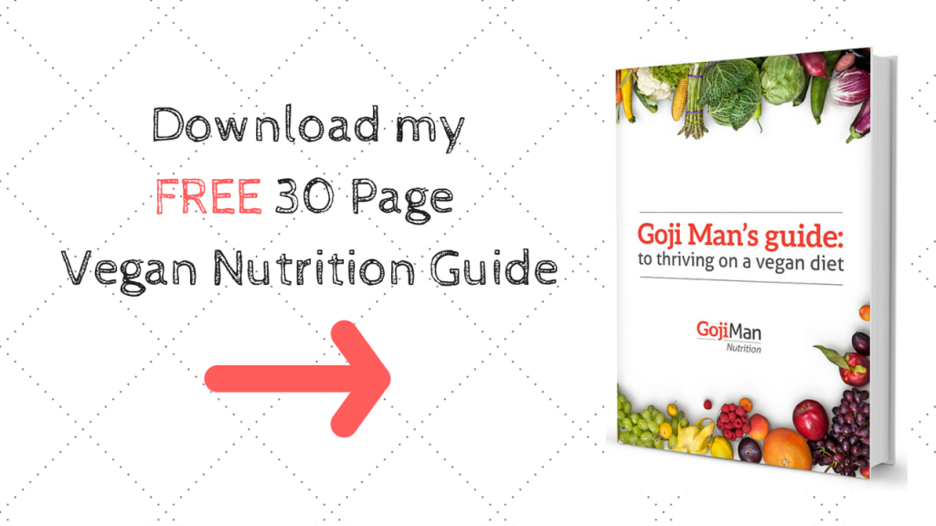 FREE 30 Page Vegan Nutrition Guide