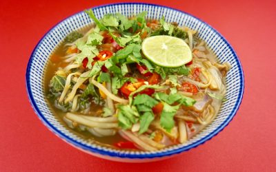 Vegan Noodle Soup Recipe
